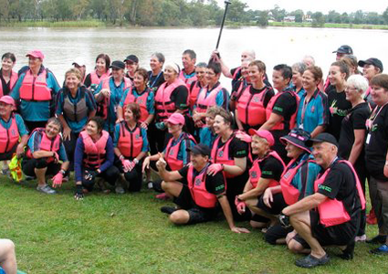 Dragon Boat Regatta Crew